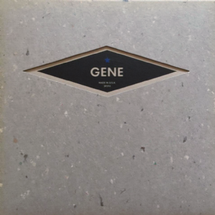 "Gene ‎- I Can't Help Myself/Be My Light, Be My Guide (7"") (Blue Vinyl) (EX+/EX-)"